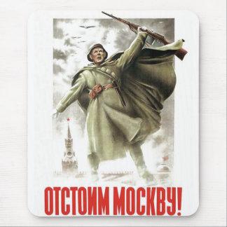 USSR CCCP Cold War Soviet Union Propaganda Posters Mouse Mat