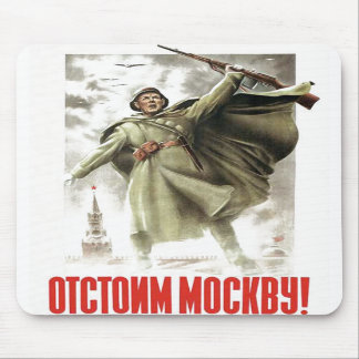 USSR CCCP Cold War Soviet Union Propaganda Posters Mouse Pads