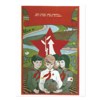USSR CCCP Cold War Soviet Union Propaganda Posters Post Cards