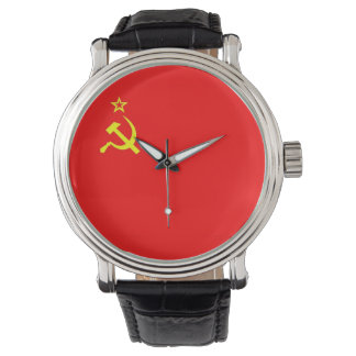 ussr cccp vintage old russia soviet communist watch