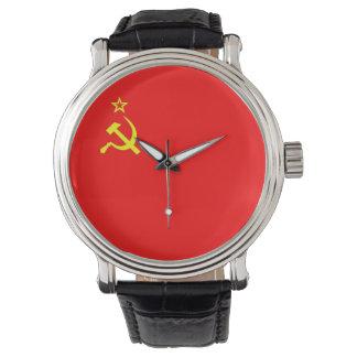 ussr cccp vintage old russia soviet communist watch