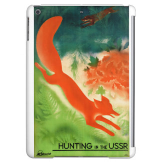 USSR Hunting Restored Vintage Travel Poster