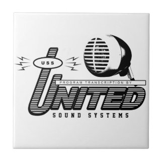 USSRS logo Ceramic Tile