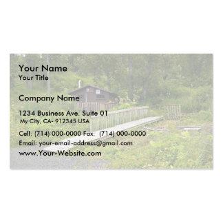 USUganik Lake Recreation Cabin Pack Of Standard Business Cards