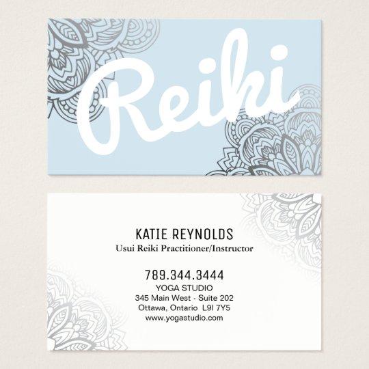 Usui Reiki Practitioner/Instructor Business Card