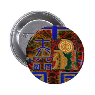 USUI REIKI symbols Pinback Buttons