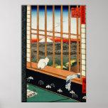 Utagawa Hiroshige Poster: Asakusa Ricefields