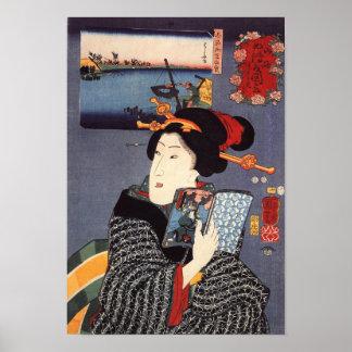 Utagawa Kuniyoshi Woman (12) Poster