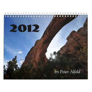 Utah 2012, by Peter Alfeld Wall Calendars