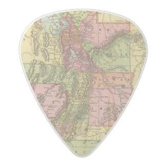 Utah 2 acetal guitar pick