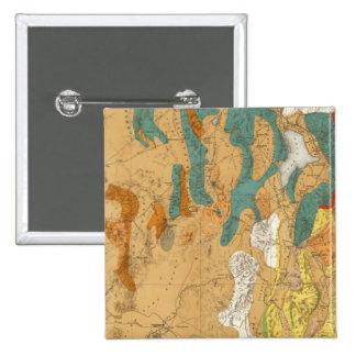 Utah 4 15 cm square badge