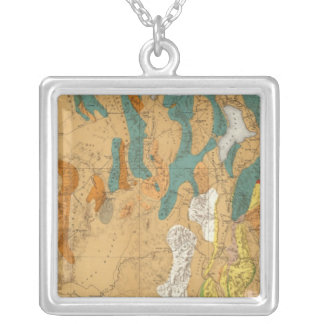 Utah 4 silver plated necklace