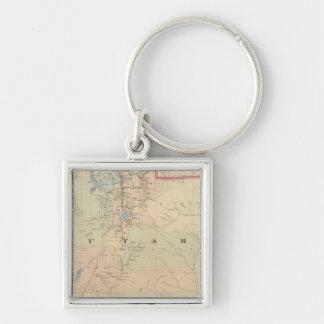 Utah 5 key ring