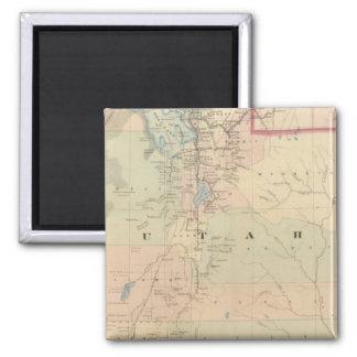 Utah 5 magnet