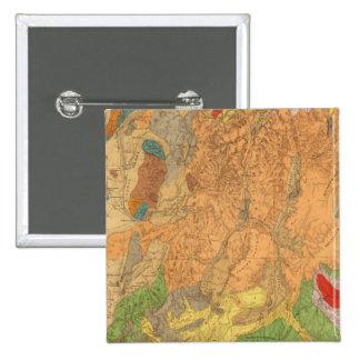 Utah 6 15 cm square badge
