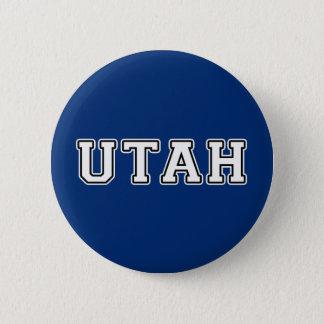 Utah 6 Cm Round Badge