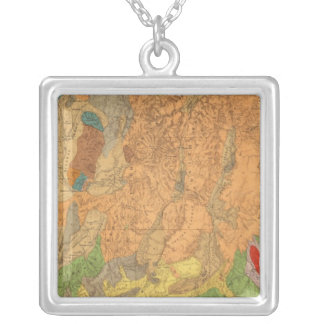 Utah 6 silver plated necklace