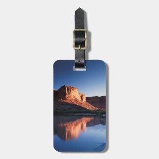 Utah, A mesa reflecting in the Colorado River 1 Luggage Tag