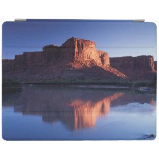 Utah, A mesa reflecting in the Colorado River 2 iPad Cover