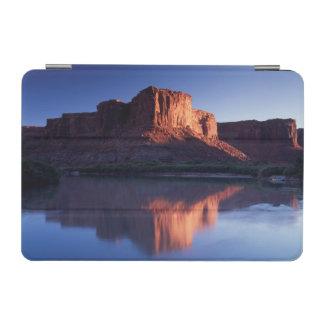 Utah, A mesa reflecting in the Colorado River 2 iPad Mini Cover