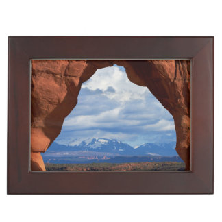 Utah, Arches National Park, Delicate Arch Keepsake Box