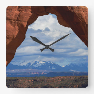 Utah, Arches National Park, Delicate Arch Wall Clocks