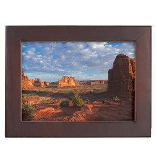Utah, Arches National Park, rock formations 1 Keepsake Box