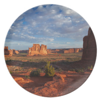 Utah, Arches National Park, rock formations 1 Plate