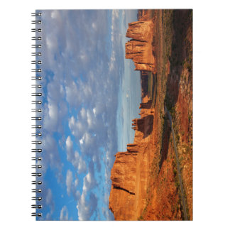 Utah, Arches National Park, rock formations 2 Notebook