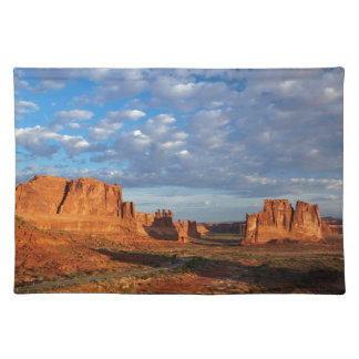 Utah, Arches National Park, rock formations 2 Placemat