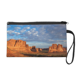 Utah, Arches National Park, rock formations 2 Wristlet Clutches
