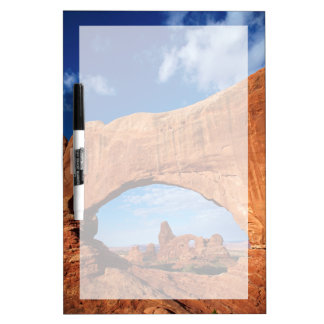 Utah, Arches National Park, Turret Arch 2 Dry Erase Board