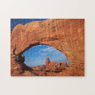 Utah, Arches National Park, Turret Arch 3 Jigsaw Puzzle