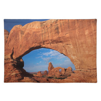 Utah, Arches National Park, Turret Arch 3 Placemat
