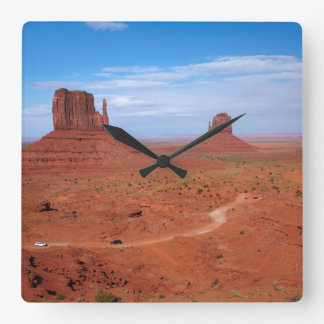 Utah. Arizona Border, Navajo Nation, Monument Clocks