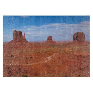 Utah. Arizona Border, Navajo Nation, Monument Cutting Board