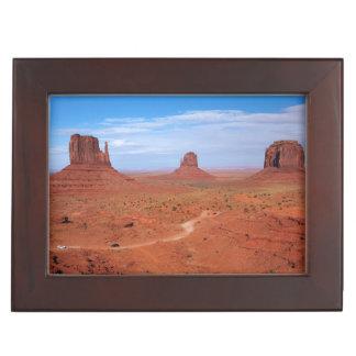 Utah. Arizona Border, Navajo Nation, Monument Keepsake Box