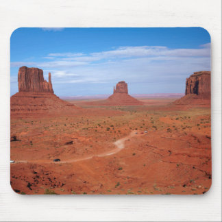 Utah. Arizona Border, Navajo Nation, Monument Mouse Mat