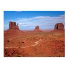 Utah. Arizona Border, Navajo Nation, Monument Postcard