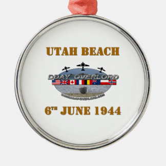 Utah Beach 6th June 1944 Christmas Ornament