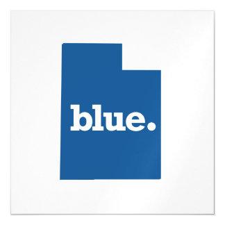 UTAH BLUE STATE MAGNETIC INVITATIONS