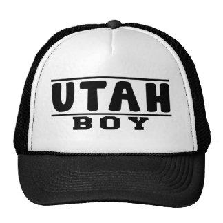 Utah Boy Designs Trucker Hat
