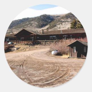 Utah Cabin Stickers