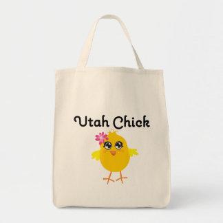 Utah Chick Canvas Bags