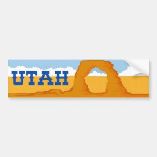 Utah Delicate Arch Bumper Sticker