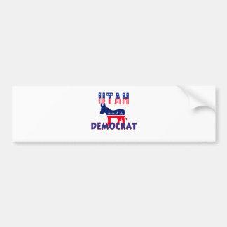 Utah Democrat Bumper Sticker