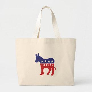 Utah Democrat Donkey Tote Bag