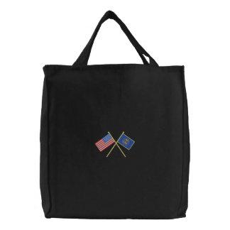 Utah Embroidered Tote Bag