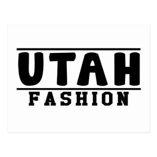 Utah Fashion Designs Postcard
