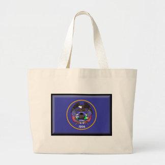 Utah Flag Tote Bags